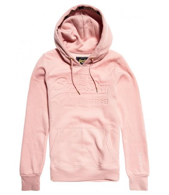 V Logo Pastel Deboss Entry Hood Pink