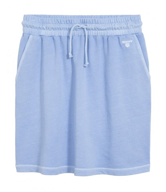Sunbleached Sweat Skirt Capri Blue