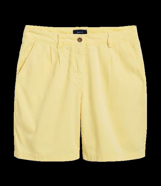 Moderen Chino Shorts Lemon
