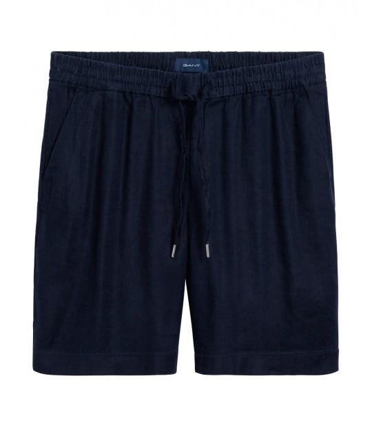 Summer Linen Shorts Marine