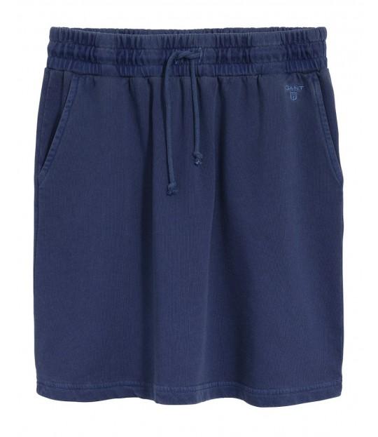 Sunbleached Sweat Skirt Persian Blue
