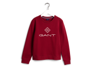 Gant Lock-Up Sweat Burgunder