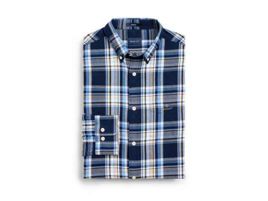 Flannel Indigo Shirt Blue