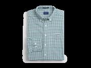 Oxford Gigham Shirt Green
