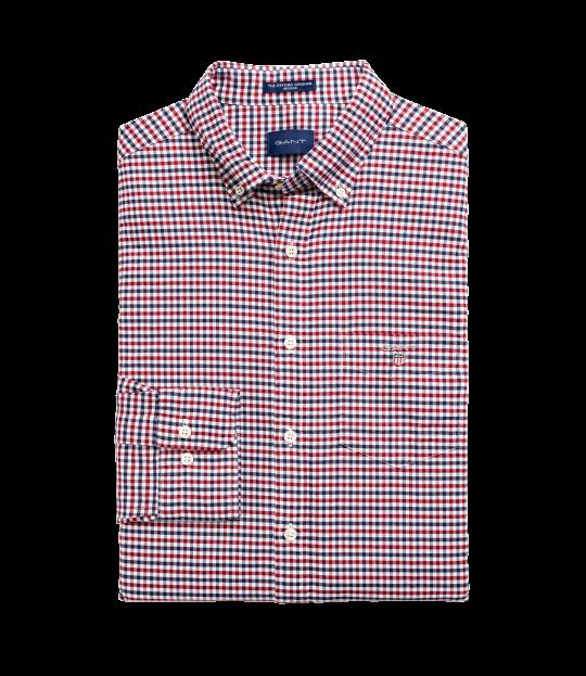 Oxford Gigham Shirt Red
