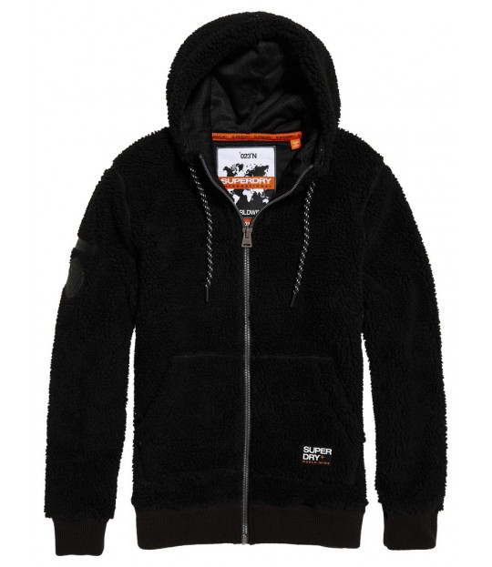 Core Sherpa Ziphood Black