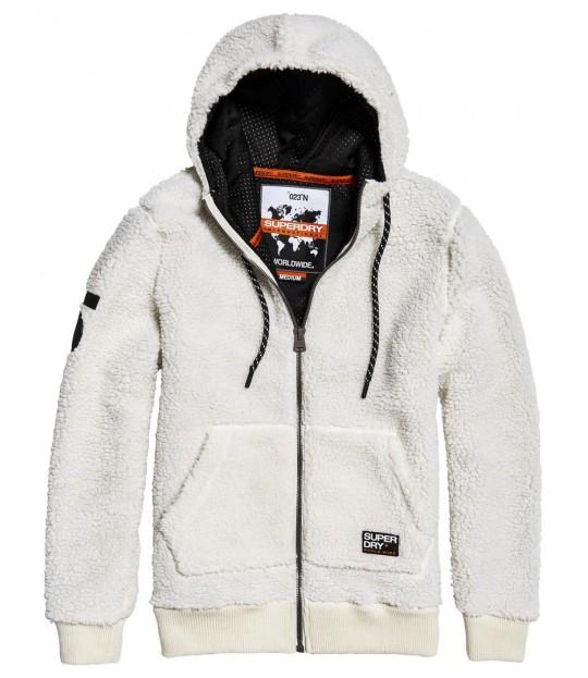 Core Sherpa Ziphood White